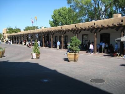 Santa Fe - Første stref af Mexicos indflydelse