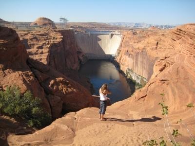 The Glen Canyon Dam - Næsten så stor som Hoover Dam